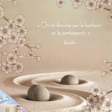 Cadre En Toile Citation Bouddha Zen 40 X 40 Cm Le Bonheur