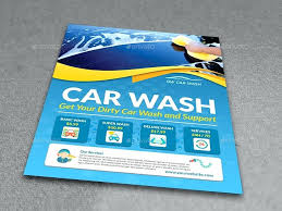 Car Wash Flyer Template Printable Free Online Flyers Powerpoint ...