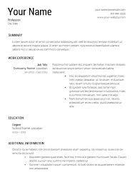 Resume Template Maker Stunning Resume Template Builder Resume Template Creator Resume Template
