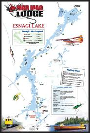 White Lake Ontario Depth Chart Esnagi Lake Mar Mac Lodge White River Ontario