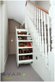 Appealing Decoration Under Stairs Storage Ideas With Hand Painted Under  Stairs 45 Under Stair Storage Ideas