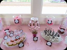 Karau0027s Party Ideas Cookies And Milk Baby Shower Party Ideas Baby Shower Party Table Decorations