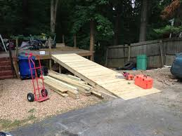 simple handicap ramp plans hobby woodworking tools uk plans to build a pergola on a deck test out