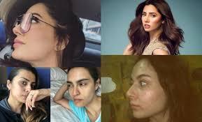 mehwish hayat no makeup page 1 line