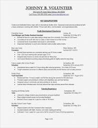 Soup Kitchen Volunteer Resume Best Of Cover Letter Resume Sample ...