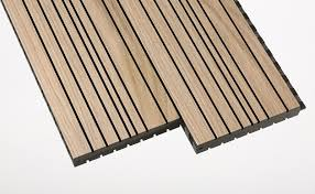 timber acoustic panels groove