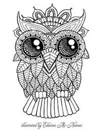 Classy Design Printable Owl Coloring Pages For Adults Page Adult