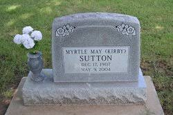 Myrtle May Kirby Sutton (1907-2004) - Find A Grave Memorial