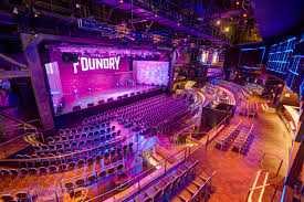 The Foundry Seating Chart Press Detailed Sahara Las Vegas