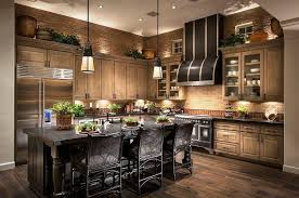 What Color To Paint Kitchen With Dark Cabinets Awesome Decorating