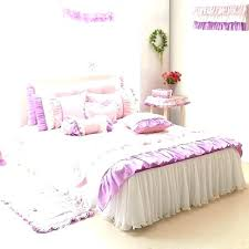 purple crib bedding sets pink and blue girls skirt canada image 0 purple crib