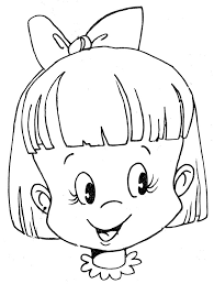 Small Picture Coloring Pages Girls Face Dzrleathercom