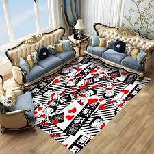 Betty Boop Lorong Keset Karakter Kartun Karpet Kamar Tidur Karpet Custom  Persegi Panjang Anti Slip Tikar untuk Ruang Tamu Dapur Tikar|Karpet| -  AliExpress