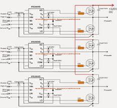 3 phase solar inverter electronic cicuits pinterest solar rv inverter transfer switch at Vintage Power Inverter Converter Wiring Diagram