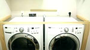 under counter washing machine cabinets over washer and dryer cabinet net countertop dry