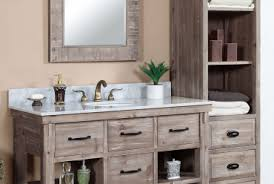 rustic gray bathroom vanities. Accos 48 Inch Rustic Bathroom Vanity Matte Ash Grey Gray Vanities