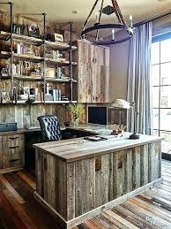 rustic office design. Rustic Office Ideas Home Furniture Interior Design Intended For Decor .