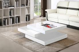 lovely gloss coffee table 18 white high rotating living room