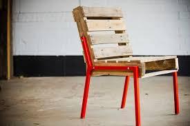 diy metal furniture. simple diy recycled pallet chair with metal legs with diy metal furniture y