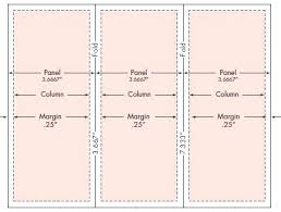 Quad Fold Brochure Template Word Leaflet Template Z Fold Brochure Word Templates Printable
