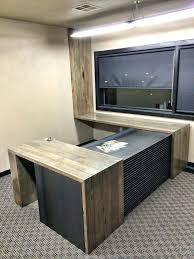 custom wood office furniture. Custom Wood Desk Adorable Office Furniture Desks .