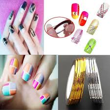 New Hot Sexy Charming Nail Art Decoration Line Sticker Strap Tape ...