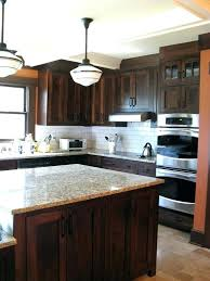 backsplash ideas for dark cabinets kitchen with43 cabinets
