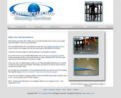 Free Janitorial Website Template