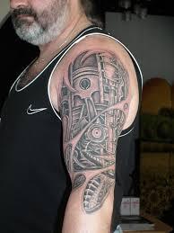 Biomechanické Tattoo Kovtun