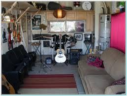 small garage man cave ideas