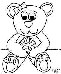 Small Picture Adult teddy bears coloring pages Printable Teddy Bear Coloring
