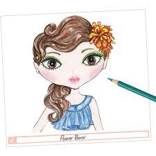 Fashion Angels Makeup And Hair Design Sketch Portfolio Fashion Angels Makeup And Hair Design Sketch Portfolio