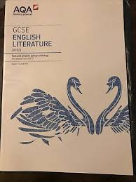 aqa gcse english literature past and