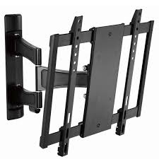 cambre full motion articulating tv wall mount for 24 to 56 inch screens black ss525