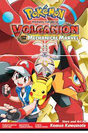 Pokémon the Movie: Volcanion and the Mechanical Marvel Pokémon the Movie  manga: Amazon.in: Satoshi, Tajiri, Ishihara, Tsunekazu, Tomioka, Atsuhiro,  Kawamoto, Kemon: Books