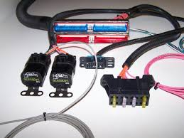 gm fuel injection wiring harness stand alone harness ls lt ls each harness is custom made per order and all unnecessary peripheral smog related components have been removed the engine harness has only 4 wires
