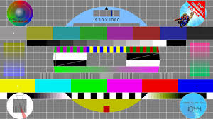 Test Pattern Monitor Calibration Chart