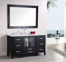 stanton  single sink bathroom vanity set solid oak