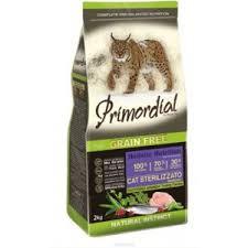 <b>Корм</b> для кошек <b>Primordial</b> для стерилизованных кошек ...