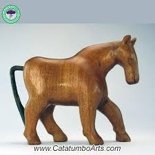 caballo pequeño little wooden horse catatumbo lightning arts cl93 mod1 modelo 1