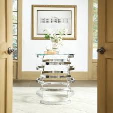 foyer table with storage. Round Foyer Table Nova Modern Glam Glass Top Metal By Inspire Q Bold With Storage