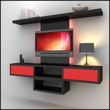 Small Picture tv units TV Wall Unit Modern Design X8 3D Model by
