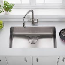 Kraus Kd1us33b 33 Inch Undermount Single Bowl Kitchen Sink Marble