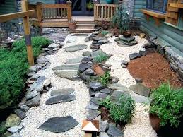 landscaping with rocks and plants front yard rock garden ideas using stones backyard outdoor gardens lan