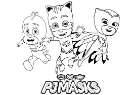 Pj Masks For Children Pj Masks Kids Coloring Pages