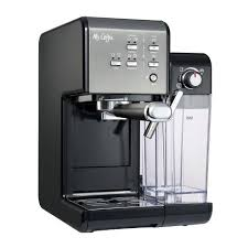 Thecoffee grounds don't come out wet like the other unit. Mr Coffee Bvmc Em7000ds Home Kitchen 1 Touch 19 Bar Pump Automatic Cappuccino Latte Espresso Maker Machine Black Target