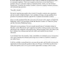 Cover Letter Recent Graduate Template Adriangatton Com