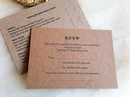 menu rsvp cards with menu choice, menu reply cards, menu reponse Who Are Wedding Rsvp Cards Returned To menu rsvp cards on brown kraft card supplied with return addressed envelope who should wedding rsvp cards be returned to