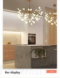 Großhandel Heracleum Ast Kronleuchter Wohnzimmer Schlafzimmer Küche Esszimmer Glanz Salon Beleuchtung Art Decor Indoor Pendelleuchte Von Ryanpeng