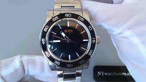men s hugo boss orange canon ball steel watch 1512859 men s hugo boss orange canon ball steel watch 1512859